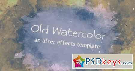 Old Watercolor - After Effects Projects