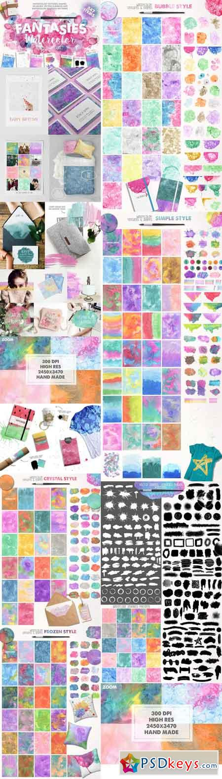 Fantasies Watercolor Collection 1184082