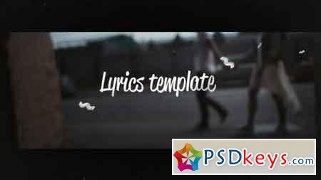 Lyrics Template 17812872 - After Effects Projects