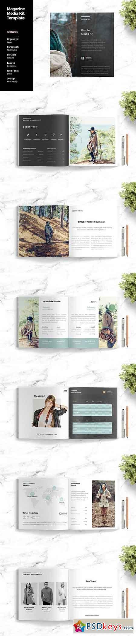 online media kit template - magazine media kit template 1409402 free download