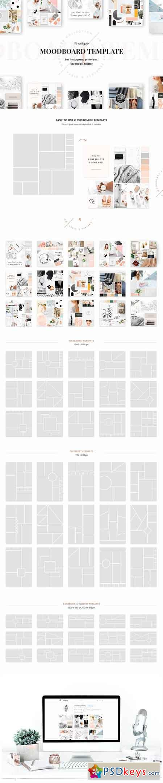 Mood Board Template | Mood Board Templates 1161526 Free Download Photoshop
