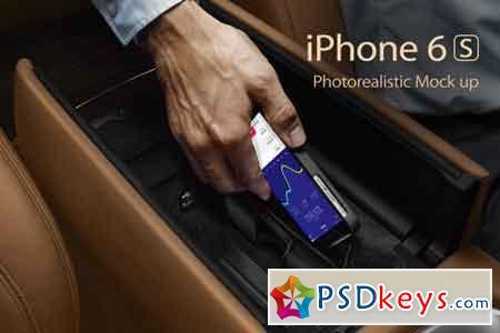 iPhone 6s Photorealistic Mockups 2