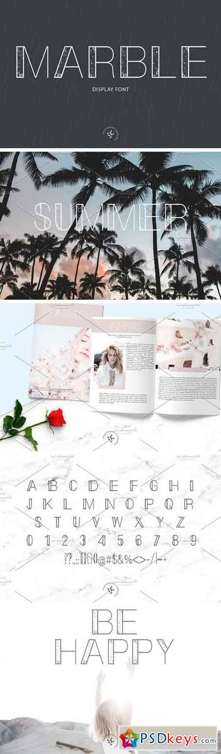 Marble Display Font 1423120