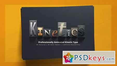 Kinetics Professional Kinetic Typography System 12721079 - After Effects Projects