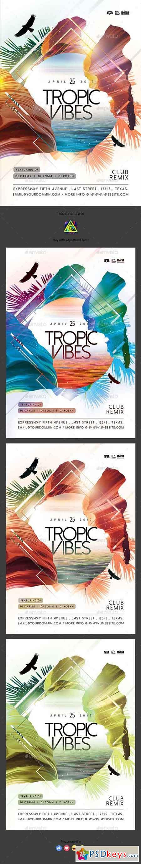 Tropic Vibes Flyer 19956747