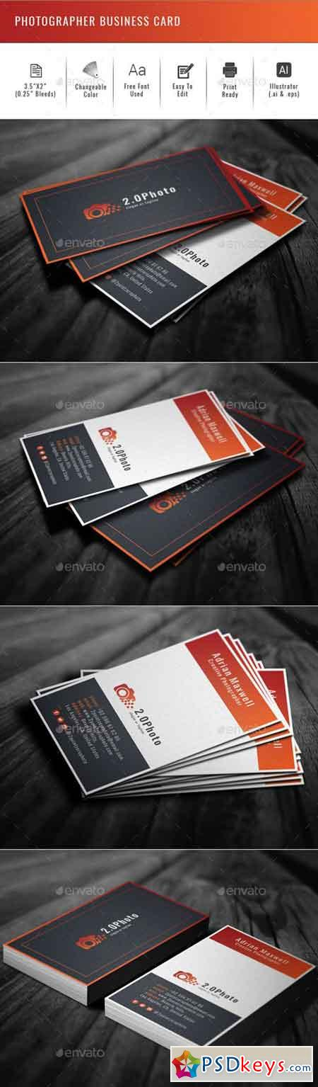 Photographer Business Card 19956694