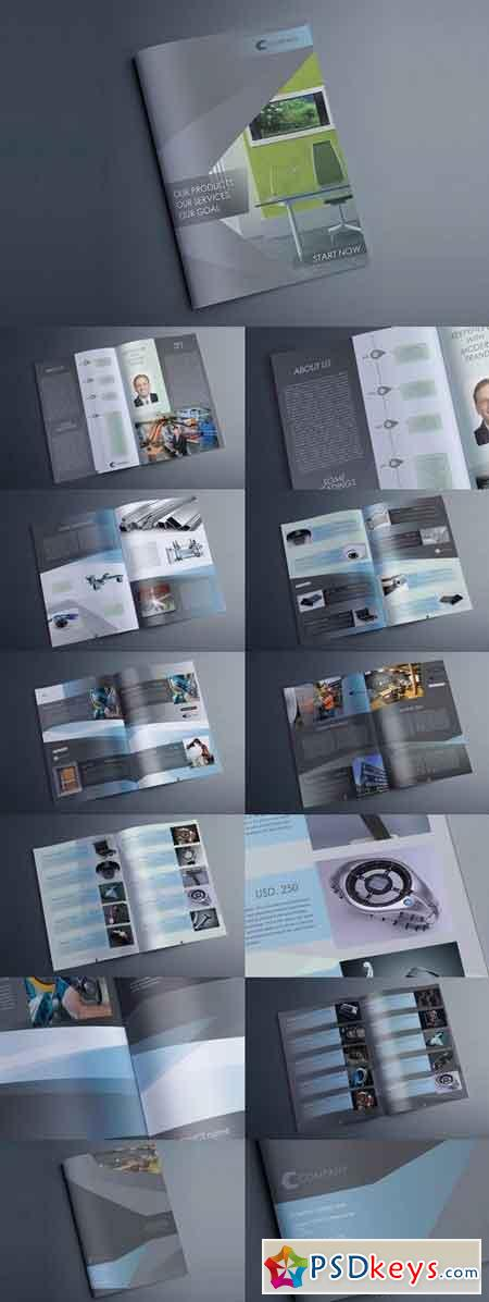 Indesign Multipurpose Catalog Silver 669427