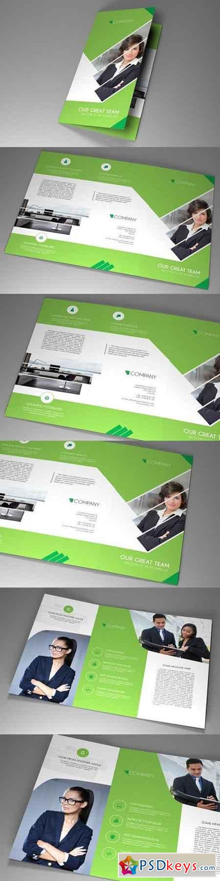 Trifold Indesign Brochure Fancy vol2 1201415