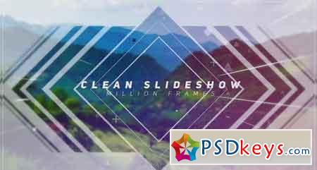 Clean Slideshow - After Effects Projects