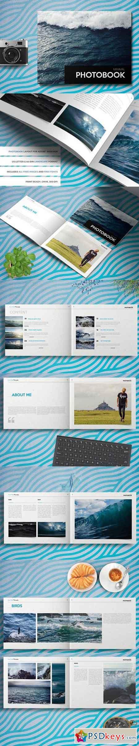 PHOTOBOOK landscape brochure 1437230