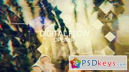 Digital Flow - Opener 19778018 - After Effects Projects