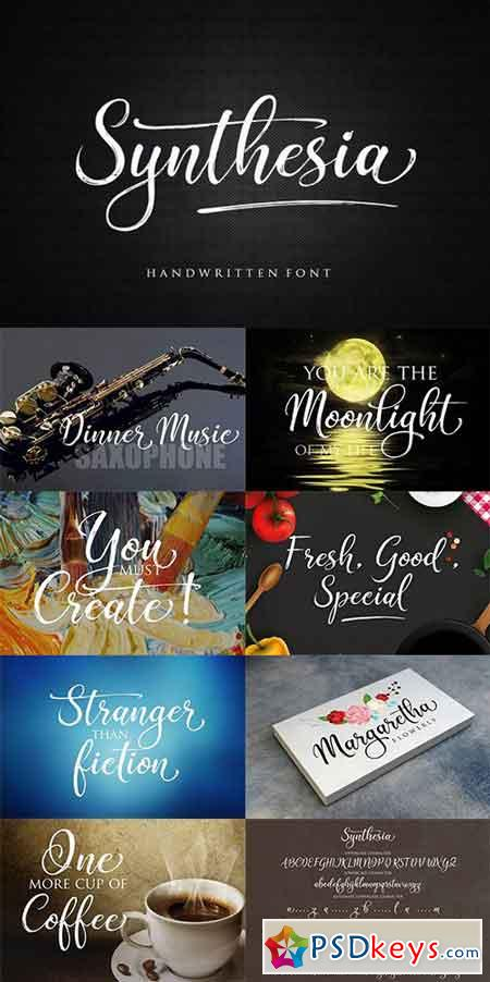 Synthesia Script Font 1452539