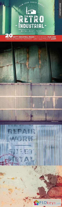 Industrial Film-look Photo Bundle 1259836