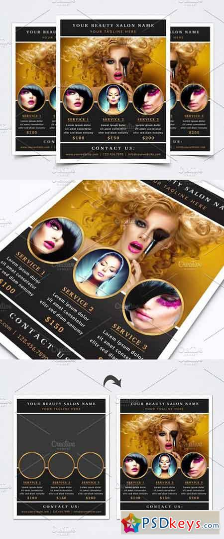 Beauty Flyer Template 1448951