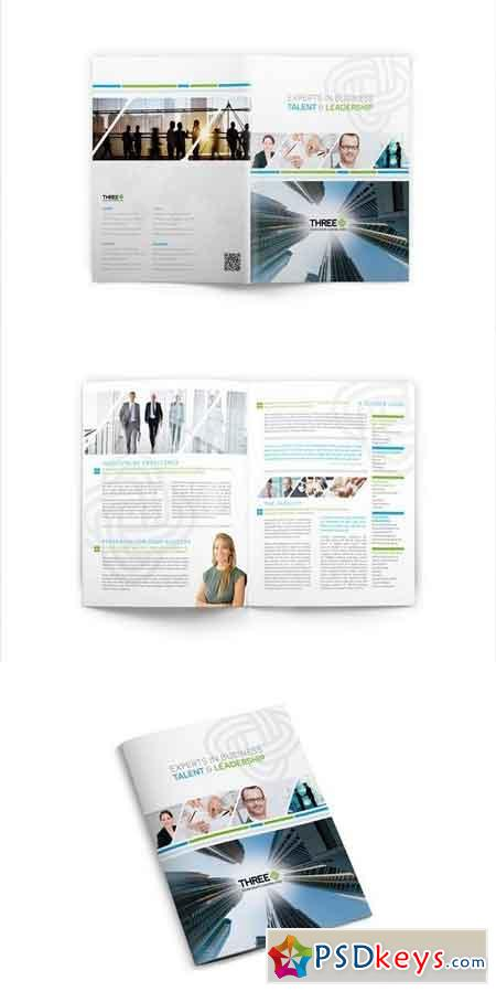 InDesign Brochure Template 03