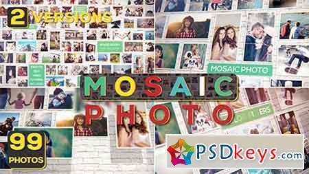Mosaic Photo 19728148 - After Effects Projects » Free
