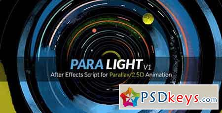 ParaLight After Effects Script for Parallax 2.5D Animation 17947707 - After Effects Projects