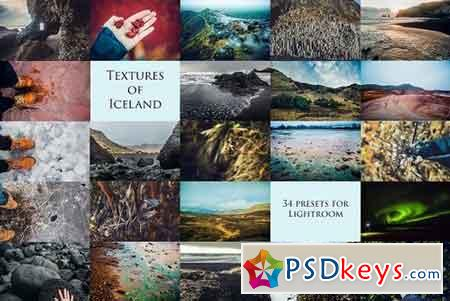 Textures of Iceland-34 presets forLr 1264216