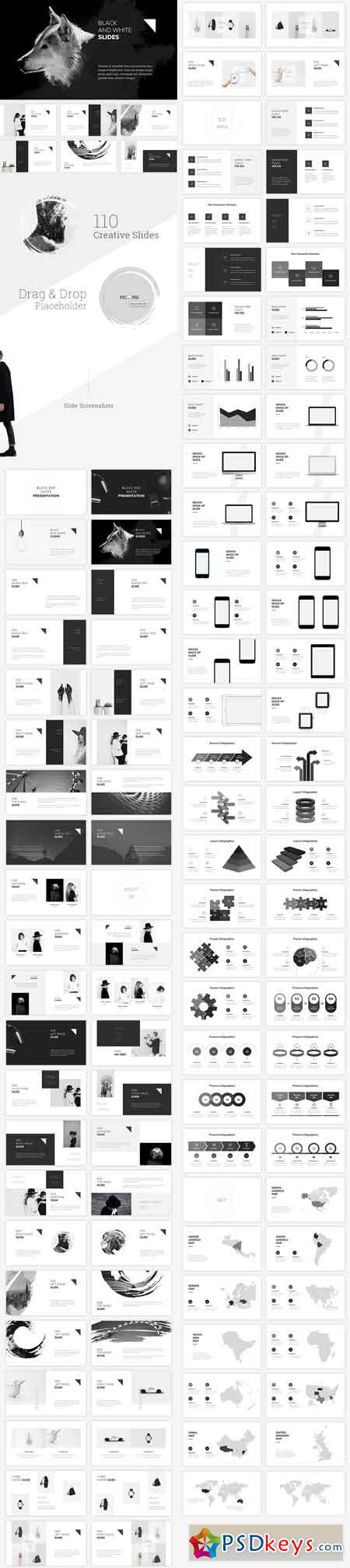 Black and white powerpoint template 20006597 free download black and white powerpoint template 20006597 toneelgroepblik Images