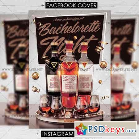 Bachelorette Night - Premium A5 Flyer Template