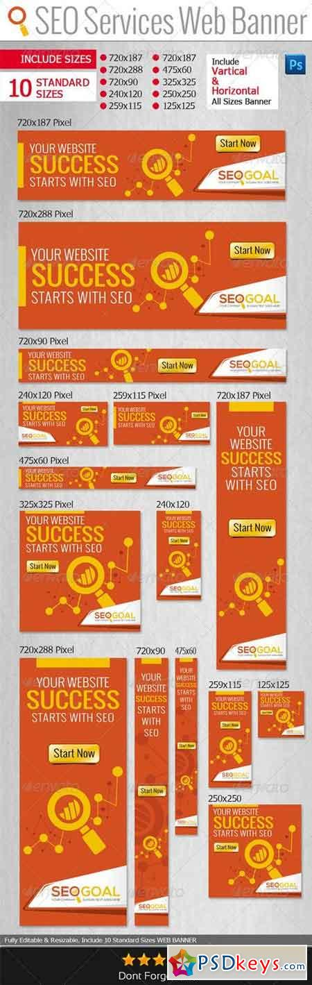 SEO Services Web Banners & Adds 6525106