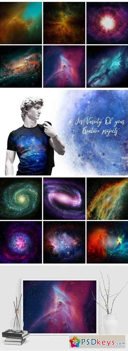 30 Space Nebula Galaxy Textures 1439169
