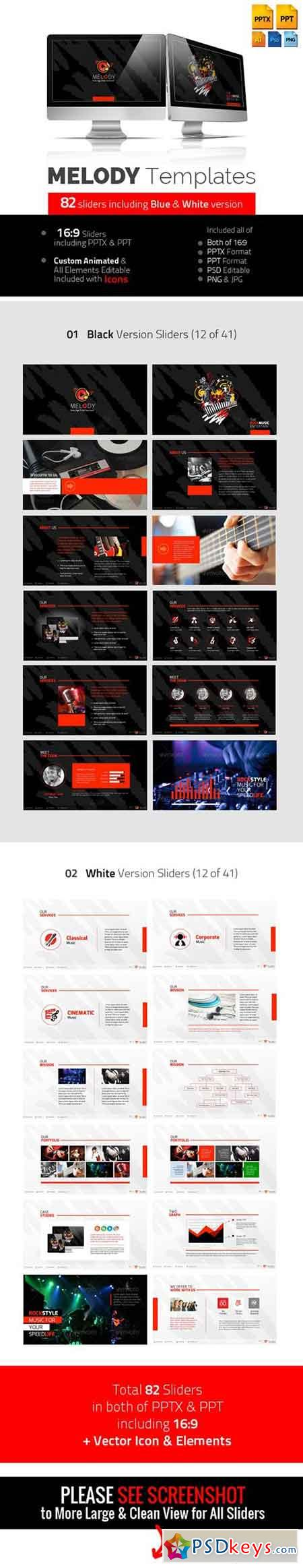 melody professional multimedia templates 5814136 free