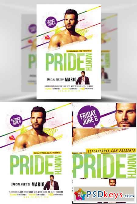 Pride Month Special DJ Flyer Template