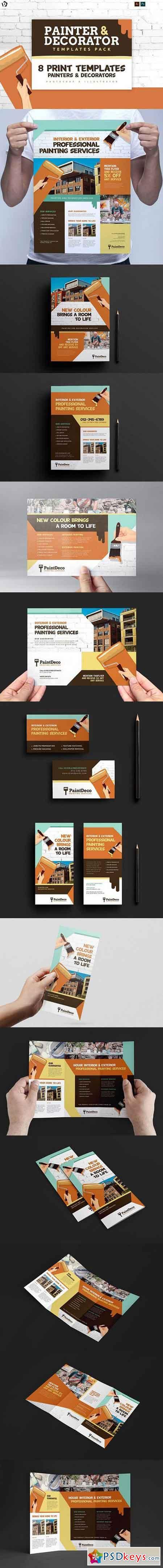 Painter & Decorator Templates Pack 1418479