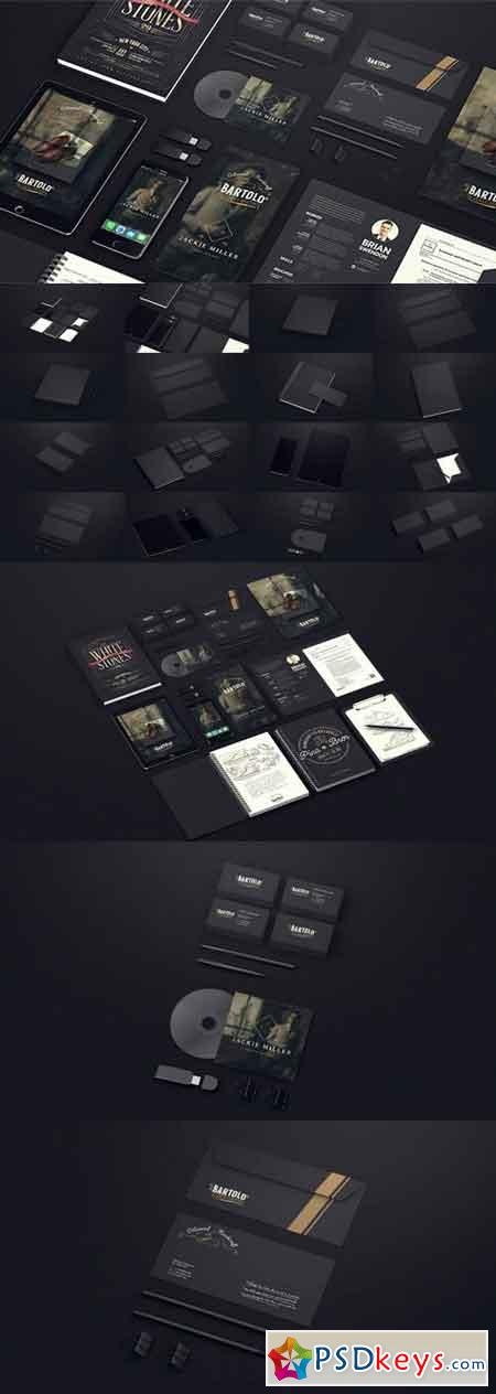 Black Mock-up Video Presentation 19848021 - After Effects Projects