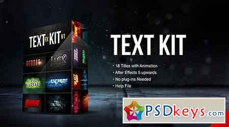 Title Fx Kit v.1 19673982 - After Effects Projects
