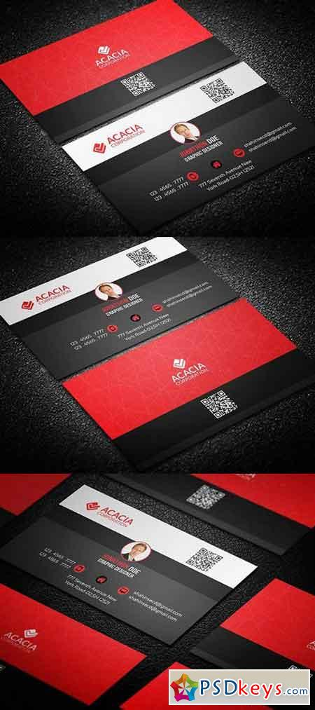 Personal Business Card 800213