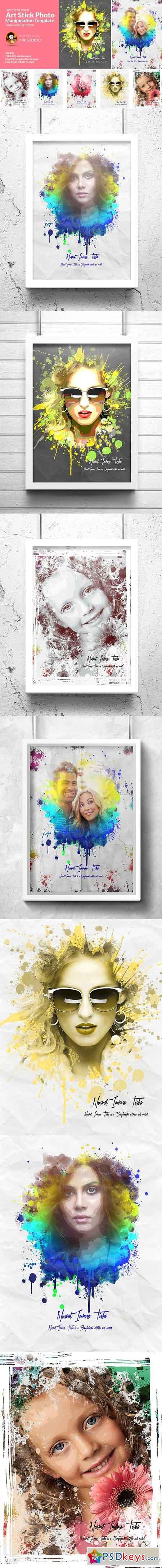 Artistic Photo Manipulation Template 1286680
