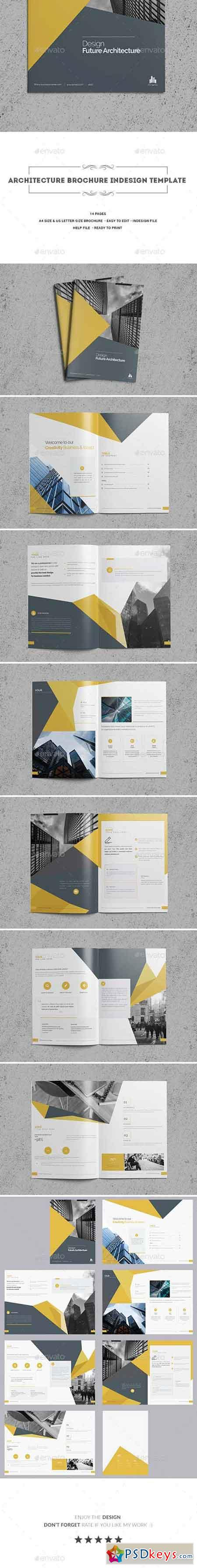 Architecture Brochure Indesign Template 20094740