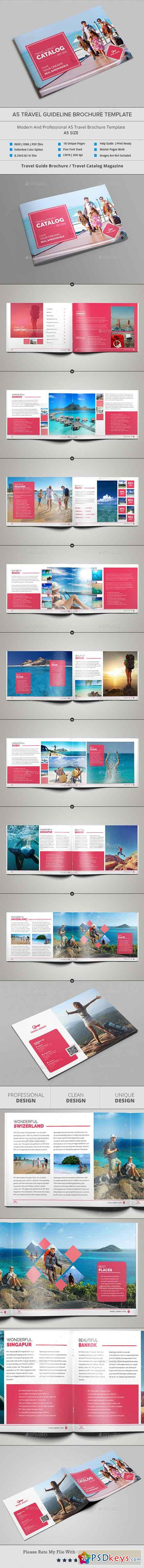 A5 Travel Guideline Brochure Catalog 20087606