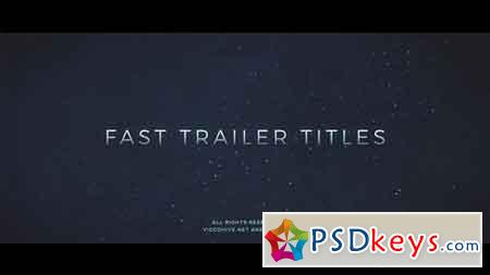 Fast Trailer Teaser 19579243 - After Effects Projects