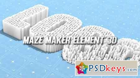 Maze Maker Element 3D 20033432 - After Effects Projects