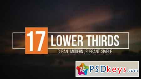 Lower Thirds 19154983 - After Effects Projects » Free