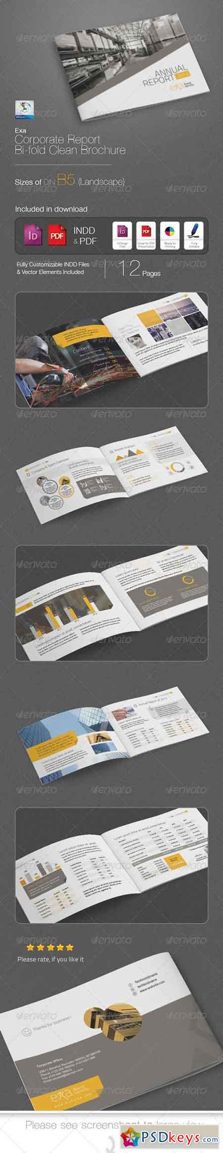 Exa Business Report B5 Brochure 4916819
