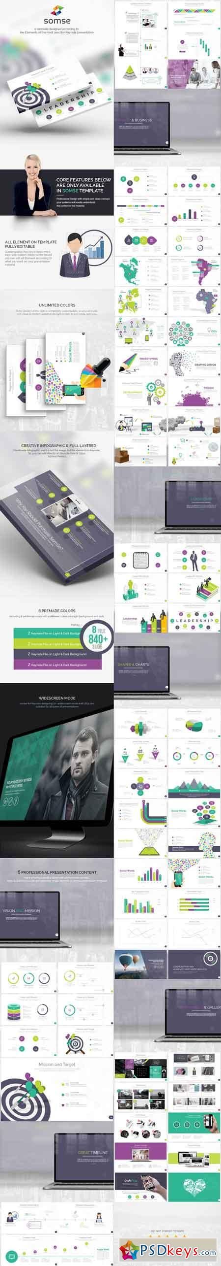 Somse - All in One Keynote Template 8893880
