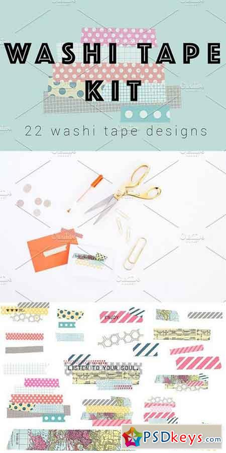 Washi Tape Kit 1495198
