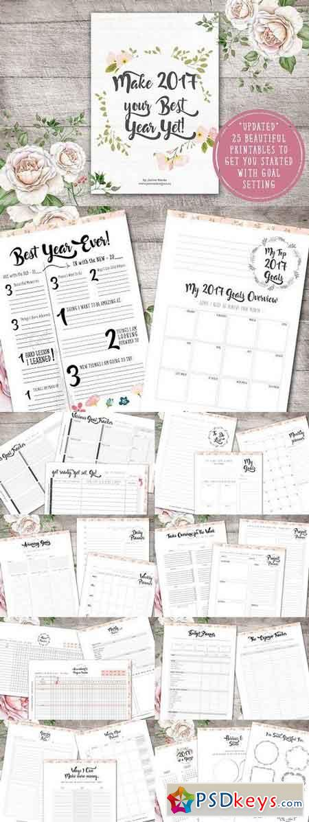 Life Planner Beautiful & Elegant 1273996