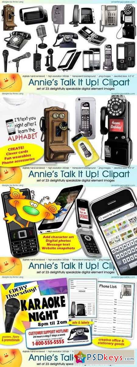 Annie's Talk It Up Clipart 1294277