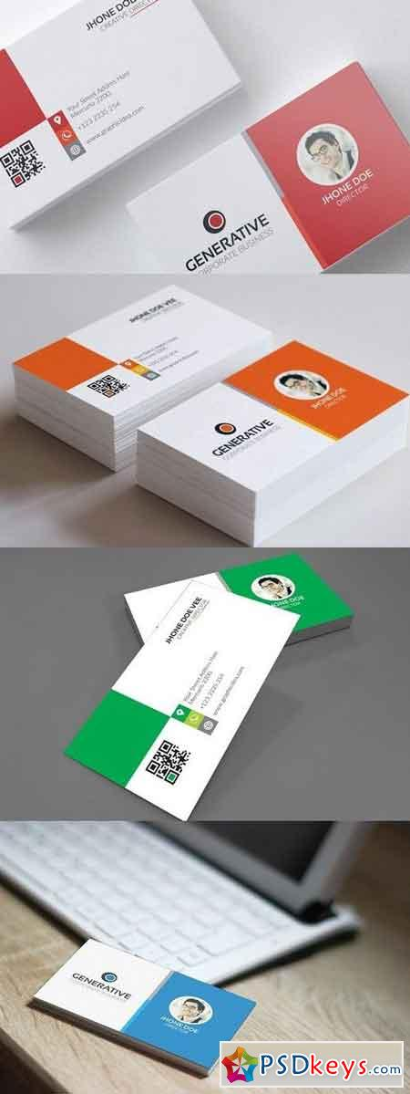Business Card Template vol.02 1286746