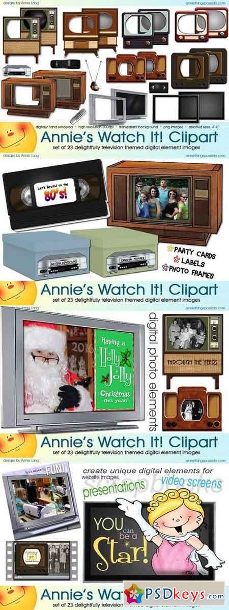 Annie's Watch It Clipart 1294255