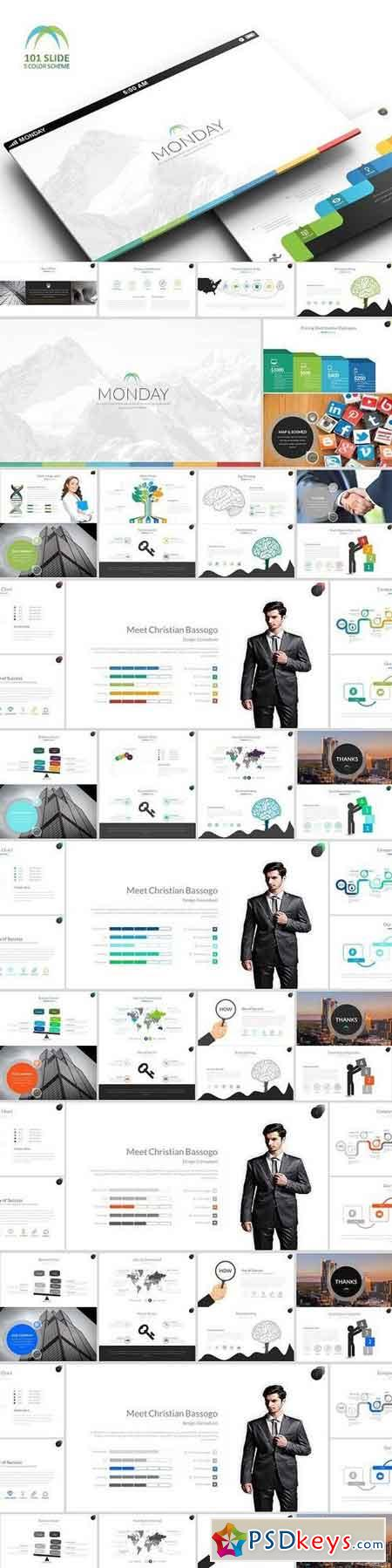Monday Business Powerpoint 1294632