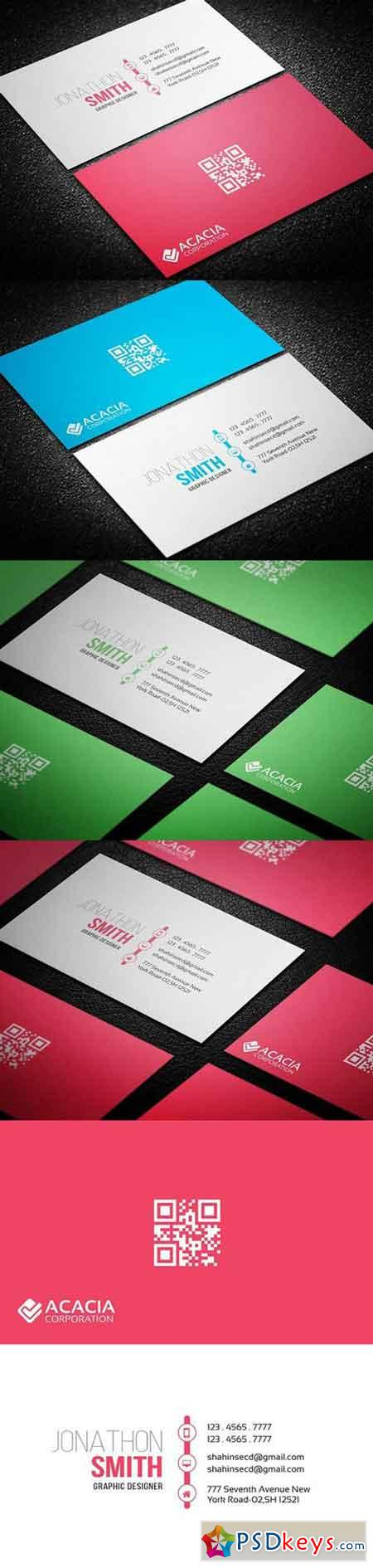 Optimistic Business Card 898383