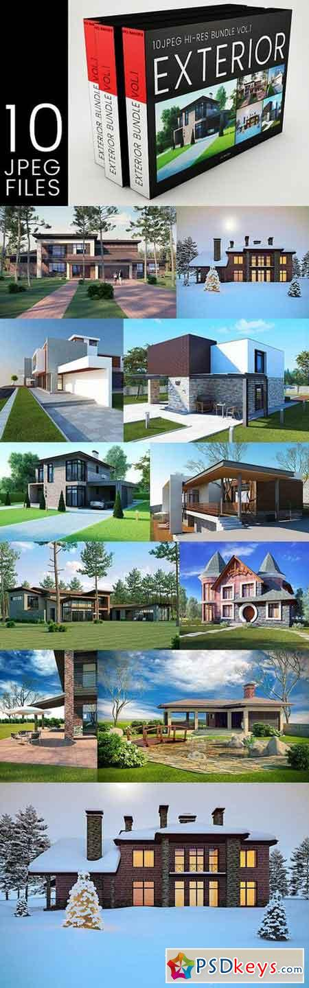 Exterior Renders Bundle 1530132