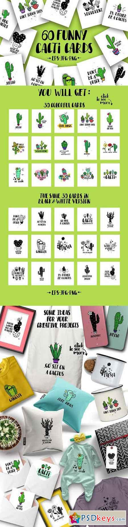 Cacti Cards 1519219