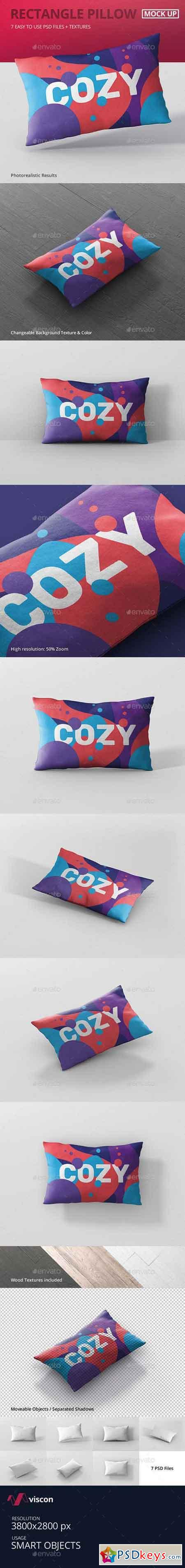Pillow Mockup - Rectangle 20133703